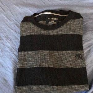 Men's Waffle knit long sleeve
